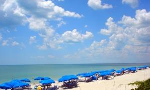 Beach in Pelican Bay