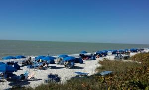 Marker36 Beach in Pelican Bay Naples FL