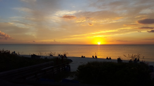 Sunset Pelican Bay Naples FL 11 16 2015