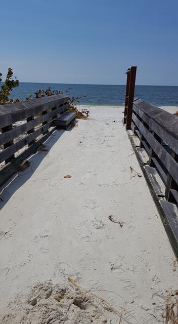 Handicap ramp at Marker36 Beach